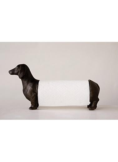 Warm Design Dekoratif Köpek Kağıt Havluluk Siyah